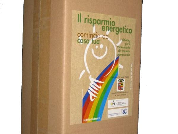 Il Kit del Progetto RED, Risparmio Energetico Domestico