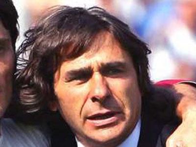 L'ex campione del mondo, attualmente responsabile del settore giovanile della Roma, Bruno Conti