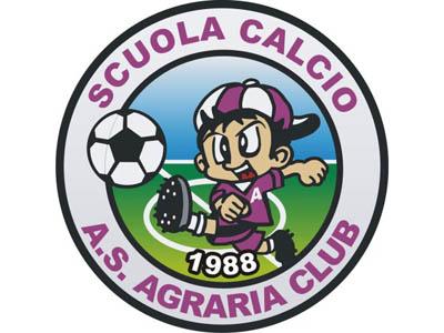Il logo della scuola calcio dell'Agraria Club