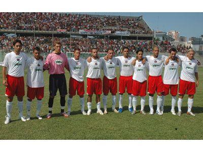 La Samb che ha giocato a Taranto