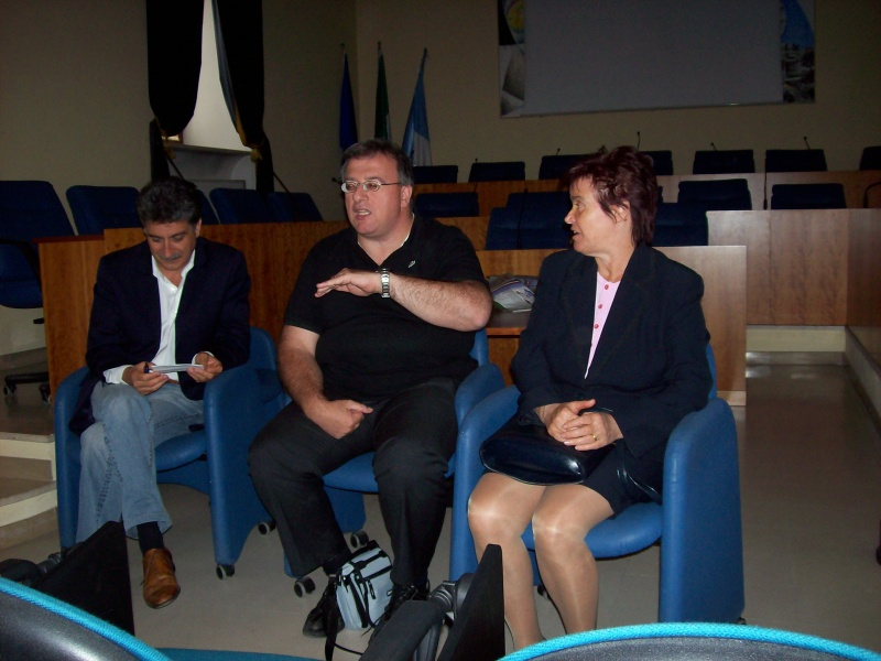 Luigi Merli, Corradetti Adoriano, Rita Gigliucci Antinori