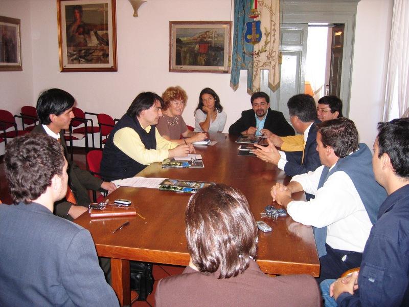 Urb-al: a Grottammare una delegazione sudamericana per approfondire la dinamica della costruzione di un bilancio partecipativo