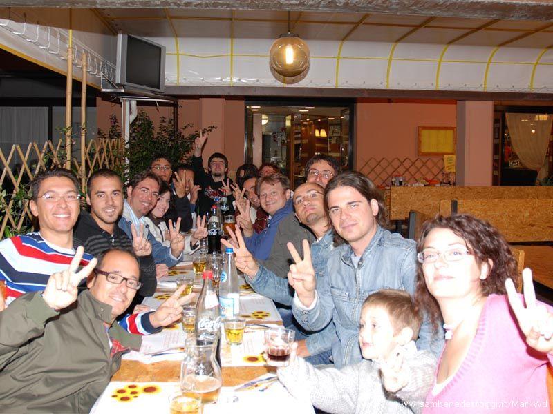 V-Day, una parte del gruppo di San Benedetto del Tronto