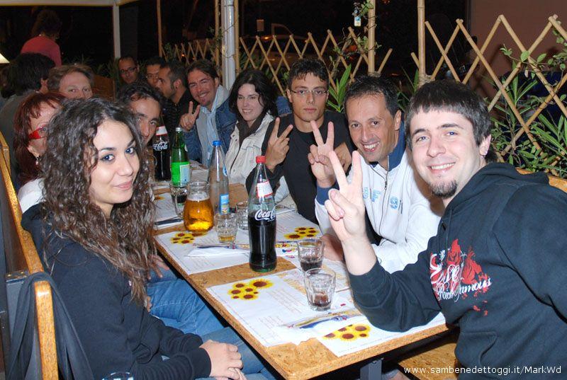 V-Day - In primo piano Pietro Michelangelo Rosetti, fondatore del Meet-up di San Benedetto del Tronto