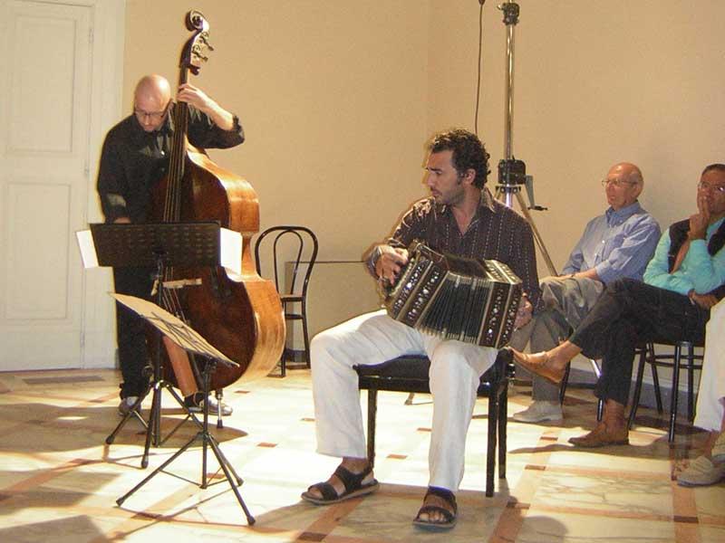 Uno dei concerti a Villa Boccabianca