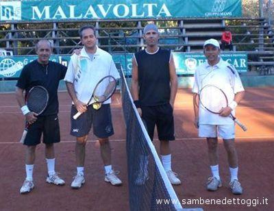 A sinistra la coppia Ivano Sansolini-Corrado Scartozzi