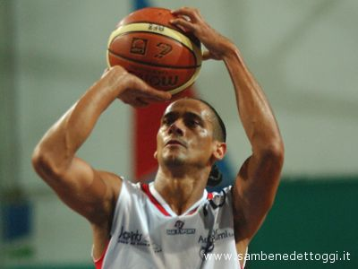 Il dominicano del Basket Club San Benedetto Martinez