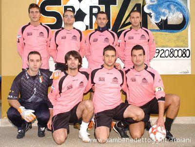 I ragazzi della squadra Cangaciros Fc