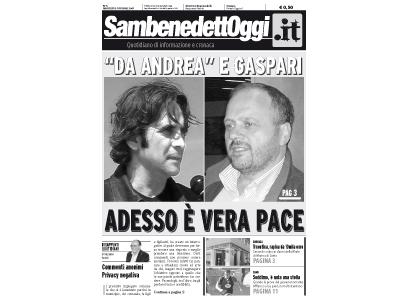 La copertina del numero del 2 ottobre di Sambenedettoggi.it