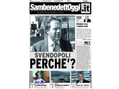 La copertina del numero 21 di Sambenedettoggi.it