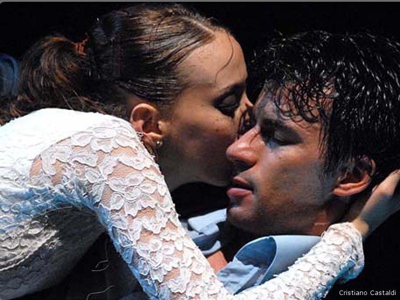 Kledi Kadiu e Noemi Arcangeli in Romeo e Giulietta