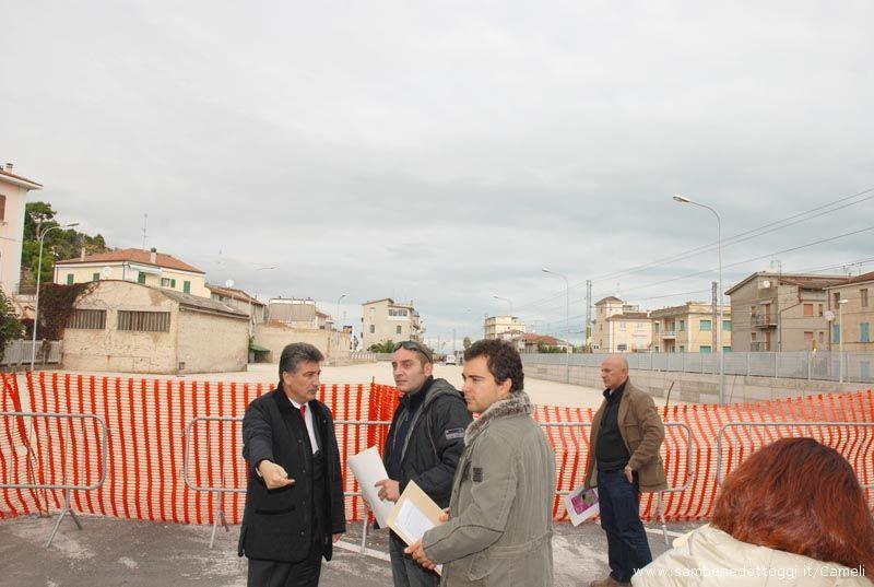 Quasi conclusi i lavori per l'ampliamento del parcheggio della Stazione Ferroviaria