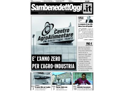 La copertina di Sambenedettoggi.it in edicola giovedì 25 ottobre