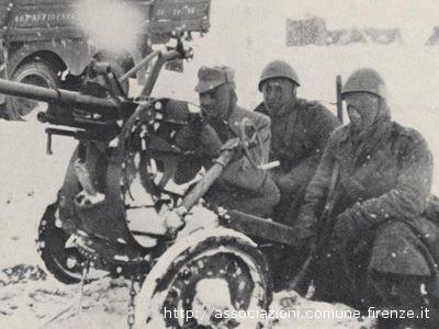 Immagini di combattenti italiani nella seconda guerra mondiale