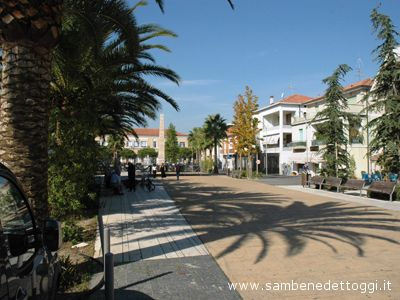 Il centro di Martinsicuro