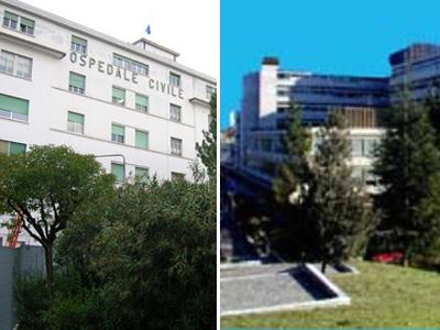 Gli ospedali di Ascoli e San Benedetto del Tronto