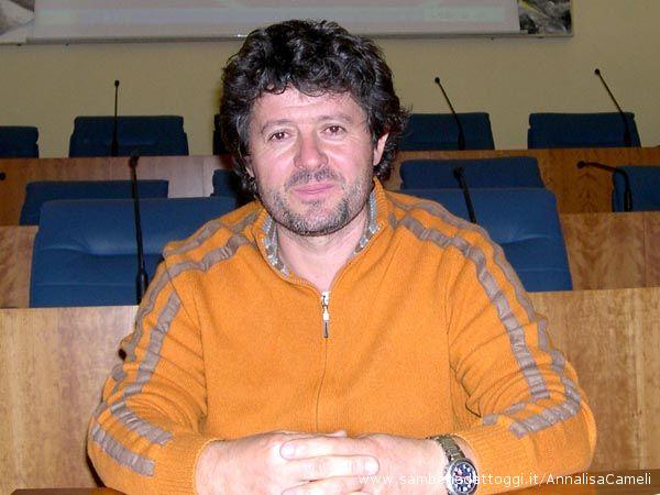 L'Assessore Marcello Capriotti