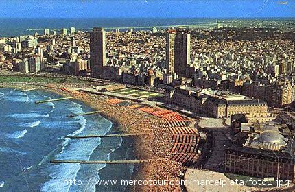 La cittadina di Mar del Plata, in Argentina, ospita molti cittadini di origine sambenedettese e