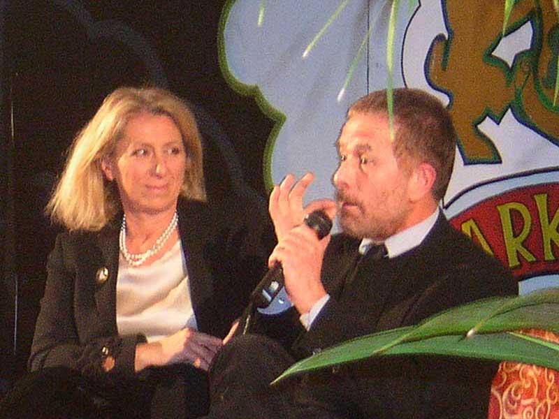 Giovanna Milella e Gabriele Lavia