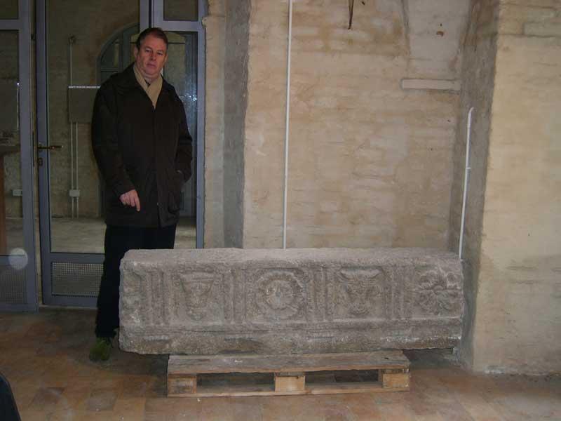 Il fregio funerario del I sec. a.C restituito dal Museo Archeologico Nazionale di Ancona