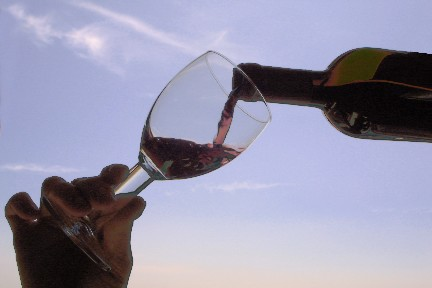 Degustazioni di vino al tramonto alla Palazzina Azzurra