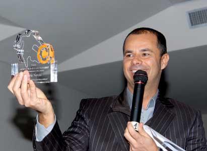 Stefano Cavezzi, presidente dell'Atletica Collection