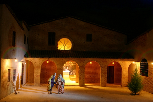 Il presepe artistico al Santuario di Beato Bernardo