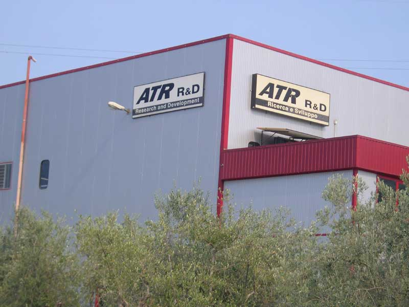 Uno degli stabilimenti dell'Atr Group