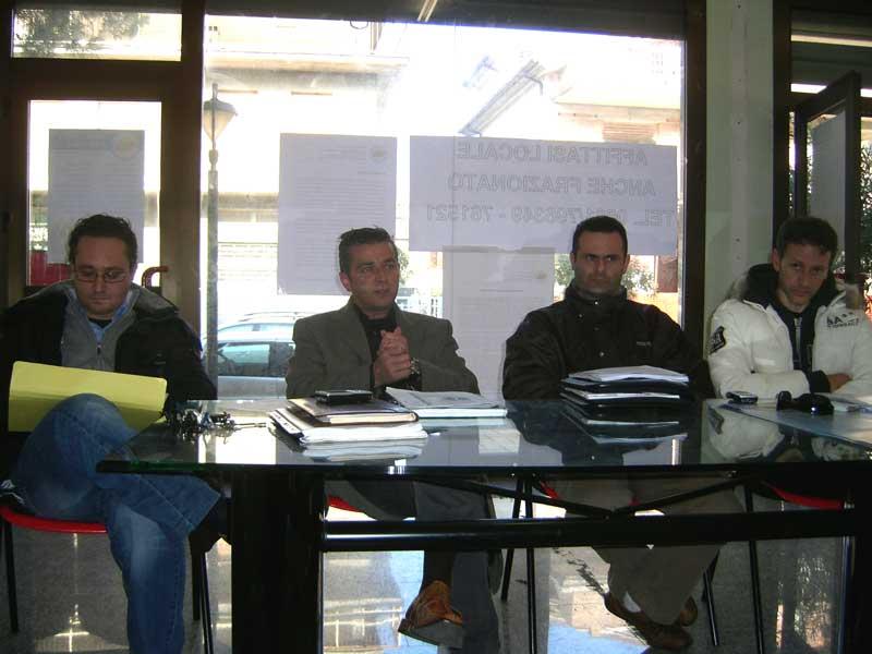 Andrea D'ambrosio, Paolo Camaioni, Alduino Tommolini e Stefano Ciapanna