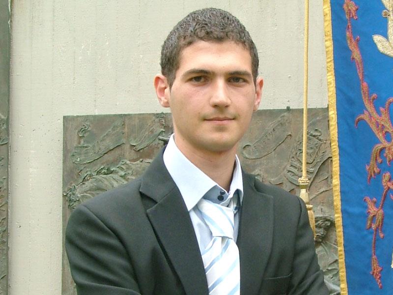 Daniele Ricciotti, presidente del consiglio Comunale di Folignano