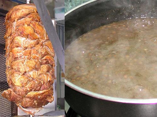 Capodanno multietnico con Kebab e lenticchie