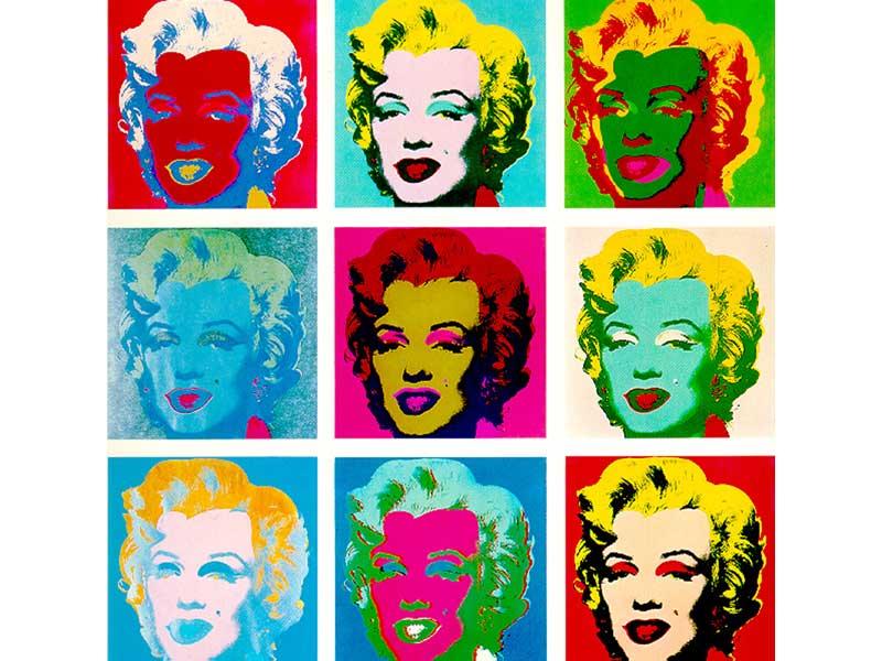 Marilyn (1967) - una delle opere più famose di Andy Warhol