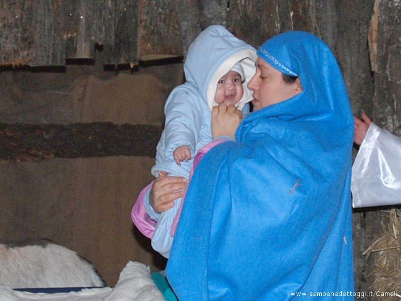 Presepe vivente 2007-08: la Natività