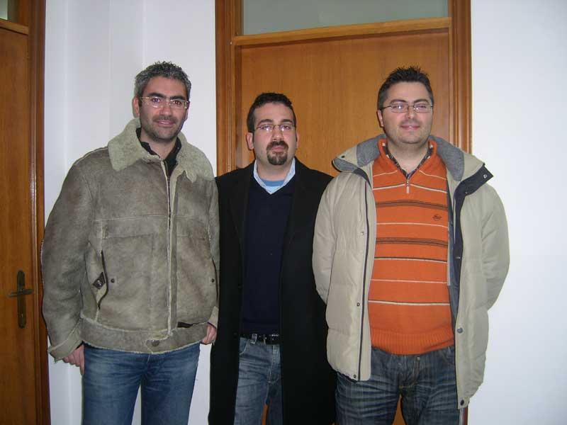 Matteo Piccioni, Antonio Di Tommaso, Luca Vagnozzi