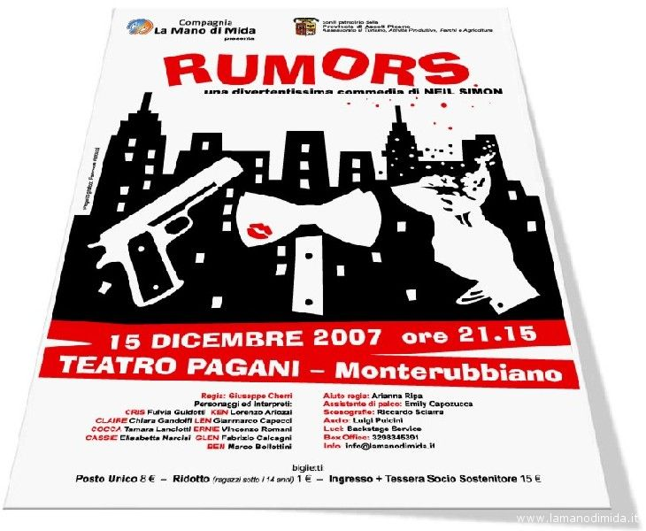 Rumors, messo in scena da