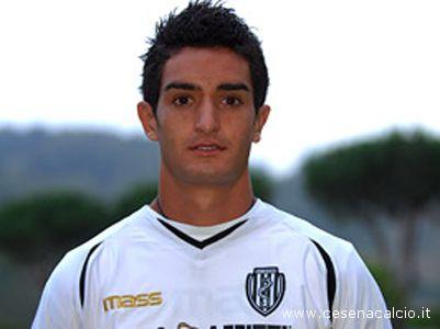 Il centrocampista del Cesena Luiz Gabriel Sacilotto