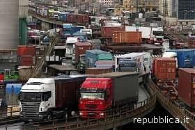 Sciopero degli autotrasportatori in tutta Italia