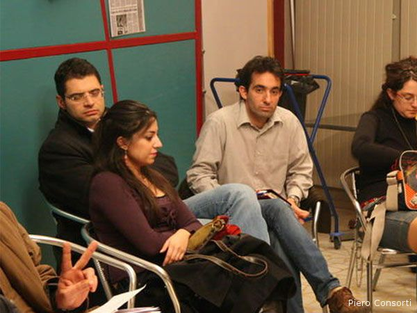 Giuseppe Vagnarelli al meet-up del 7 dicembre