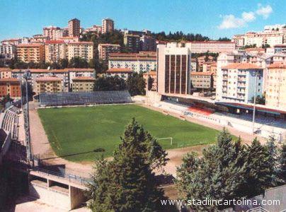 Un'immagine dello stadio