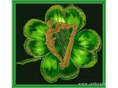 Il trifoglio, simbolo dell'Irlanda