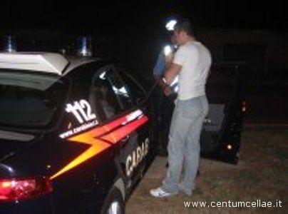 Carabinieri al lavoro per contrastare il fenomeno della guida in stato di ebbrezza