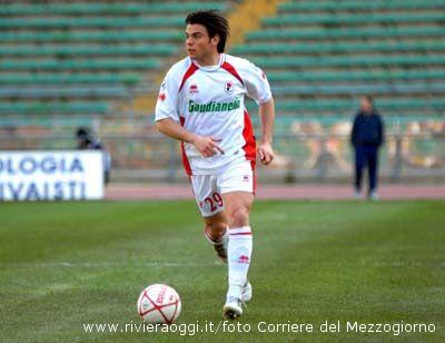 Ivan Loseto, qui con la maglia del Bari