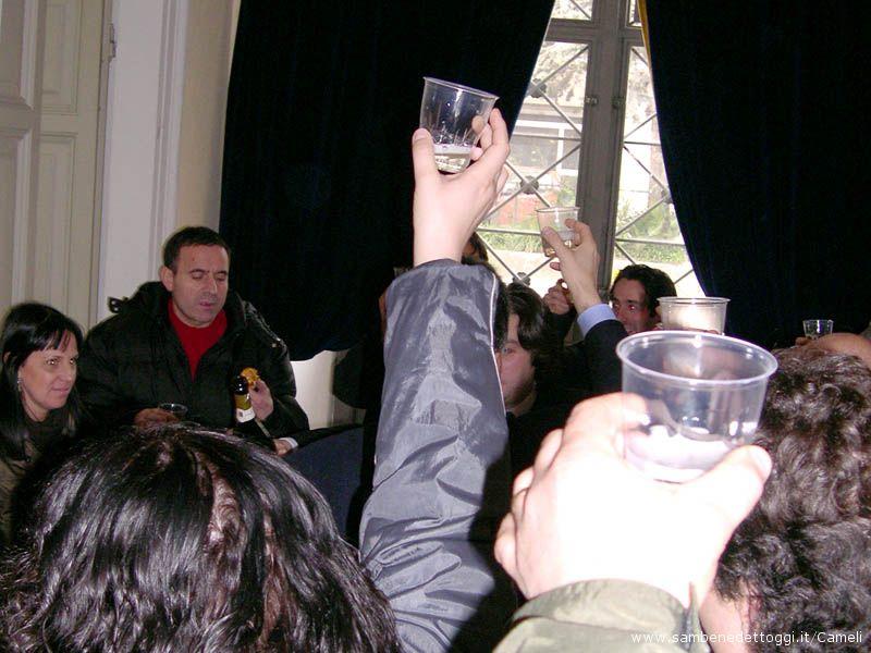 Presentati l'Agendina 2008 ed il calendario eventi, con brindisi assieme alle Associazioni