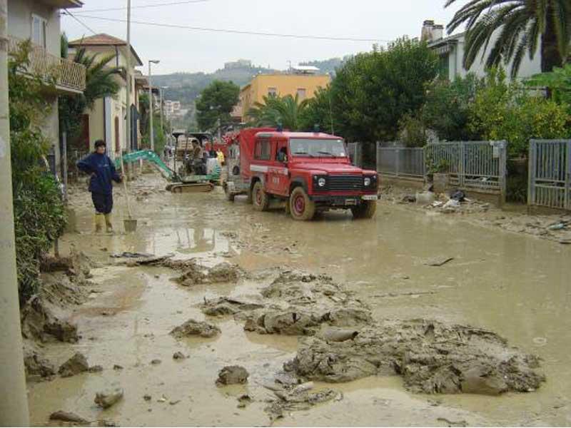 L'alluvione dello scorso 6-7 ottobre a Tortoreto