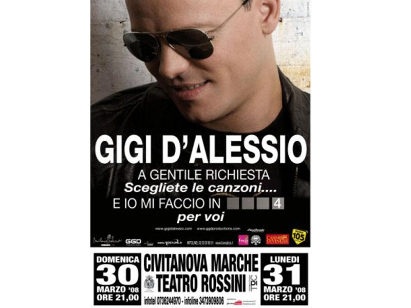 Il cantautore napoletano a Civitanova il 30 e 31 marzo