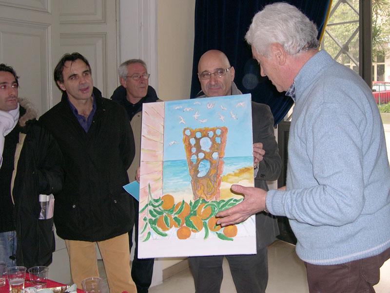 Grottammarese dell'anno 2007: l'opera realizzata da Giambattista Santori