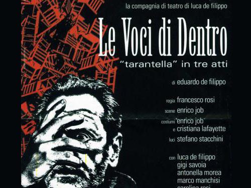 Le voci di dentro al teatro dell'Aquila di Fermo