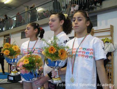 Jessica e Joelle Mattoni premiate a Montevarchi