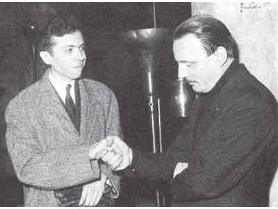 Alberto Neuman e Arturo Benedetti Michelangeli
