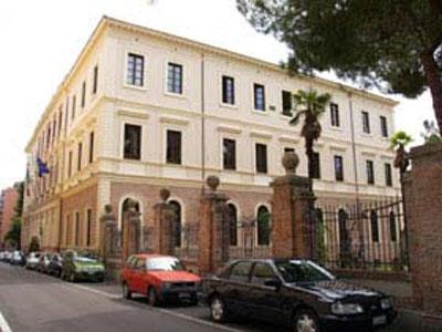 Il palazzo sede della Provincia di Teramo